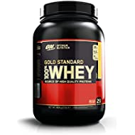 Optimum Nutrition Gold Standard Whey Protein Powder with Glutamine and Amino Acids Protein Shake by ON - Banana Cream, 29 Servings, 908 g