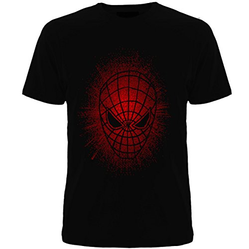 Geefasion tshirts-Set of 1-Men Round Neck Tshirts- SPRAY SPIDER-MAN Printed tee