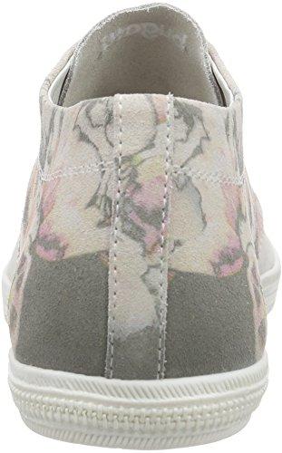 Bugatti J64223, Chaussures De Gymnastique Des Femmes Blanches (weiß (weiss / Multicolor 812))