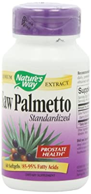 Saw Palmetto Standardized, 60 Softgels - Nature's Way from Nature's Way