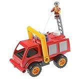 Lederstyle Lena Aktiv Feuerwehr Spielzeug Spielzeugfeuerwehr Kunststoff