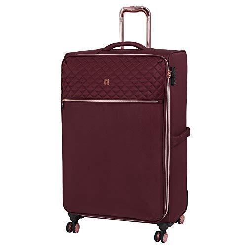 it luggage Divinity 8 Wheel Lightweight Semi Expander Suitcase Large with TSA Lock Koffer, 80 cm, 125 liters, Rot (Zinfandel)