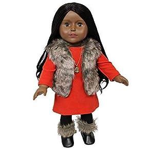 The New York doll Collection- Chicas de la Ciudad Muñeca de 18 Pulgadas-Harper, (B133)