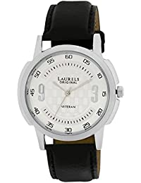 Laurels Veteran Analog Silver Dial Men's Watch - Lo-Vet-101
