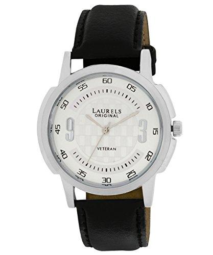 Laurels Veteran 1 Analog Silver Dial Men's Watch ( Lo-Vet-101)