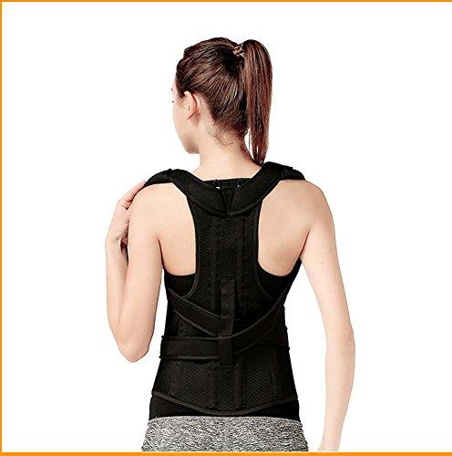 Adult Kyphose Korrektur Mit Männlichen Und Weiblichen Kindern Rückenorthesen Korrekte Sitzhaltung Anti-Buckel Haltung Gürtel,S