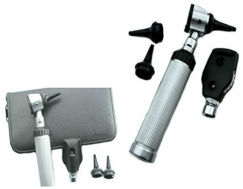 41A7C%2BJRY5L - Otoscope, Ophtalmoscope Diagnostic Set With Case, Stainless Steel New Design Reviews Professional Medical Supplies