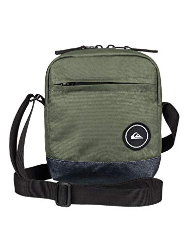 Quiksilver Magicall Bolso Pequeño, Hombre, Gris (Medium Grey Heather), One Size