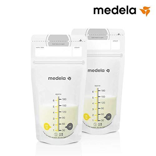 Imagen para Medela 80411 - Bolsas de almacenamiento para conservar y congelar leche materna Medela, 50 unidades