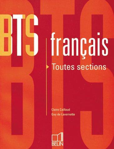 BTS français : Toutes sections