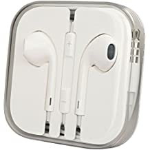 Apple EarPods - Auriculares originales Apple con manos libres y micrófono + control de volumen, para iPad y iPhone 6 Plus 5 5S 5C 4 4S