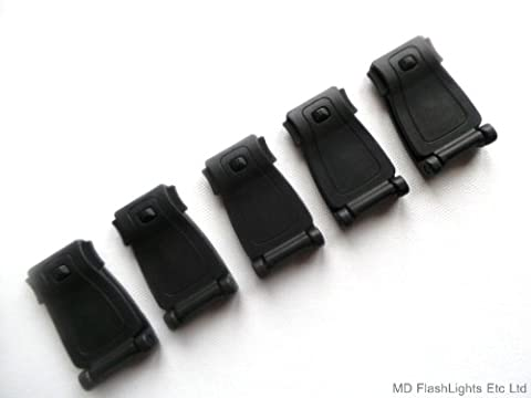 5 X BLACK POM WEBBING MOLLE STRAP BUCKLE LOAD CARRIAGE/ATTACHMENT IDEAL FOR BUSHCRAFT & SURVIVAL