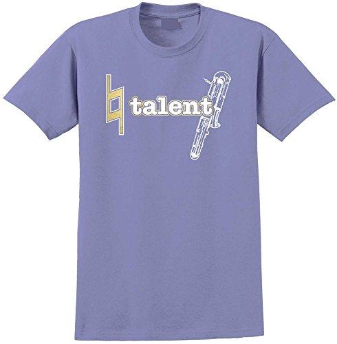assoon Natural Talent - Violett T Shirt Größe 81cm 32in Med 9-11 Jahr ()