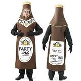 Kostüm Bierflasche 108202 Größe L