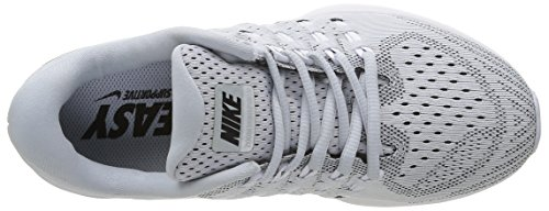 Nike Air Zoom Vomero, Running Femme Argent - Plateado (Pure Platinum / Black-White)