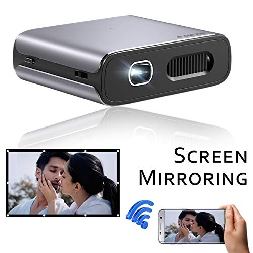 Egate X3 Multiscreen / Miracast Compact DLP Pocket Size Pico Projector