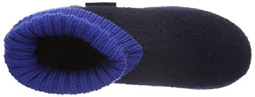 Giesswein Unisex-Erwachsene Kramsach Hohe Hausschuhe Blau (548 / dk.blau)