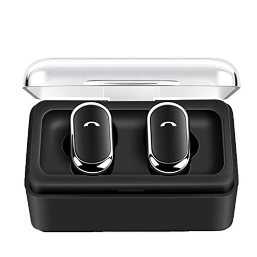 chte drahtlose Sport-Ohrhörer Blue2th In-Ear-Stereo-Kopfhörer, wasserdichte drahtlose Kopfhörer Deep Bass Stereo Sound Headset ()