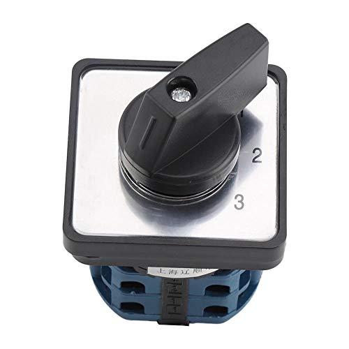 Interruptor cambio Selector giratorio 6 polos 660