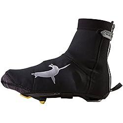 SealSkinz 15100032010120 sur sur Chaussure de vélo Mixte Adulte, Noir/Gris, FR : M (Taille Fabricant : M)