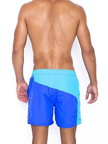 Short de bain Santa Maria bleu turquoise