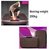 SZJRYAN Vibrationsplatte, Sport Oszillierende Plattform Multifunktional Power Plate Trainer Ganzer Körper Schlank Massage - 3