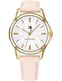 Tommy Hilfiger Reloj Analógico para Mujer de Cuarzo con Correa en Cuero  1781954 24957dd46e88