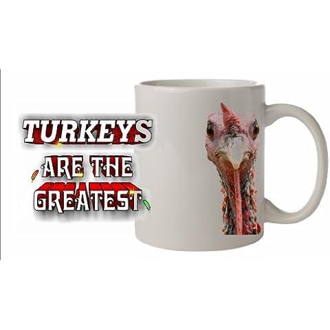 Uccello della Turchia-Tazza in ceramica, lavabile in lavastoviglie, adatta immagine #ATG 50