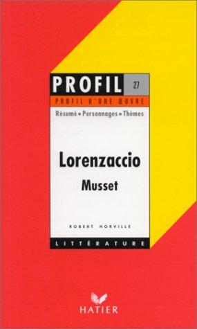 Alfred de Musset. Lorenzaccio. Résumé - Personnages - Thèmes