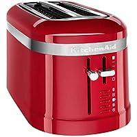 KitchenAid 5KMT5115EER - Tostador (2 rebanada(s), Rojo, De plástico,