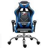 LI HAO SHOP Heimcomputerstuhl, professioneller Gaming-Stuhl, fauler Stuhl, Bürostuhl, ergonomischer Stuhl, Sessel, Boss-Stuhl, 360 ° -Drehung (kein Pedal) (Color : #2, Edition : Steel feet)