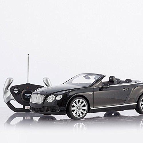 RC Spielzeug kaufen Spielzeug Bild 1: Cabrio Bentley Continental GT schwarz ferngesteuert mit LED-Licht - Maßstab 1:12*