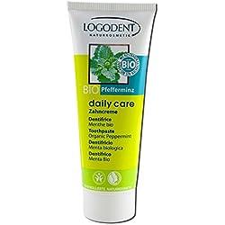 Logona - 1011dent - Daily Care - Hygiène Dentaire - Dentifrice à la Menthe BIO - 75 ml