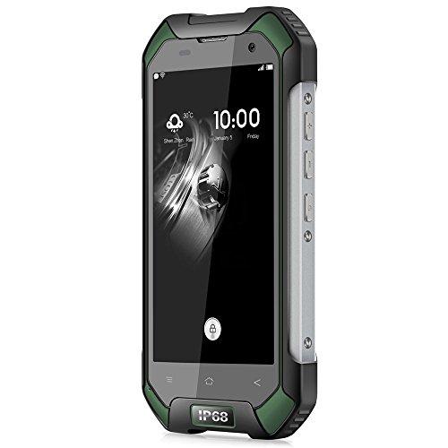 Blackview BV6000S Android 6 0 4 7 pulgada 4G Smartphone MTK6737 1 5GHz Quad Core 2GB RAM 16GB ROM Impermeable A prueba de choques NFC GPS  Verde