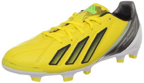 adidas F30 TRX Fg Lea, Herren Fußballschuhe, Gelb - Jaune (Black 1) - Größe: 41