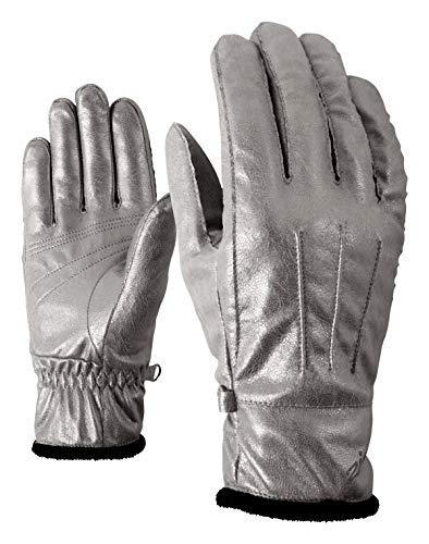 Ziener Damen ISALA Lady Glove Multisport Handschuhe, metallic Graphite, 7,5 Preisvergleich
