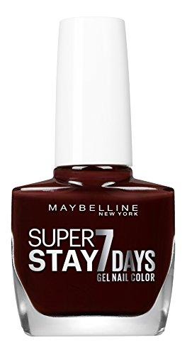 Maybelline New York Nagellack Super Stay 7 Days City Nudes Nummer 889 dark roast, 1er Pack (1 x 10 ml)