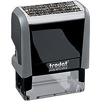 Trodat Printy 4912–Sello autoentintable (ID protección sello
