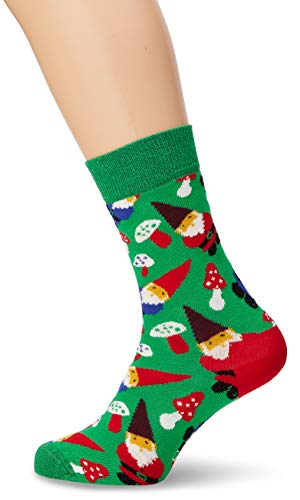 Happy Socks Garden Gnome Sock(Green) ()