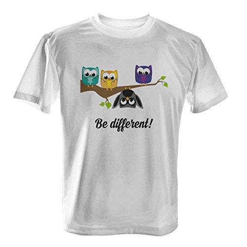 Be different! - Herren T-Shirt von Fashionalarm | Fun Shirt Spruch Spaß Ego