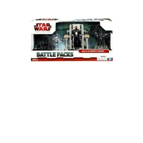 Battle Pack Birth of Darth Vader mit Vader, 2-1B Medic Droid & Galactic Chopper Droid - Star Wars The Legacy
