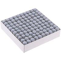 B Baosity 100 x Billar/Pool/Snooker Cue Tips Stick Cuidado y Piezas de Punta de Taco de Billar de Plástico