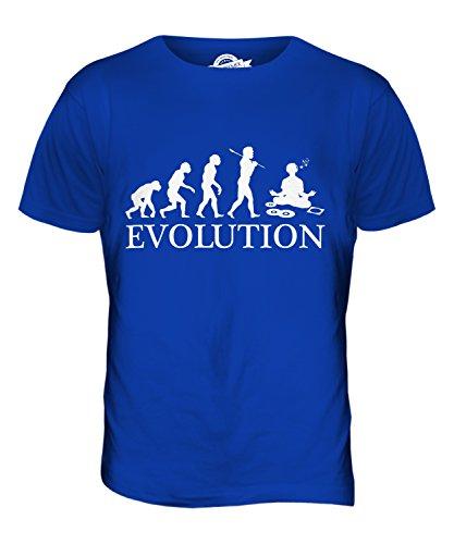 CandyMix Audiophile Evolution Des Menschen Herren T Shirt Königsblau