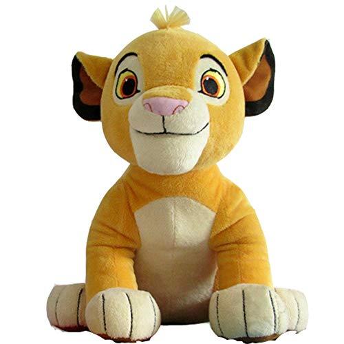 YRBB Plüschtier Baby 26 cm Gute Qualität Nette Simba Der König Der Löwen Plüschtiere Simba Weiche Kuscheltiere Puppe Für Kinder Geschenke (König Der Löwen Puppe)