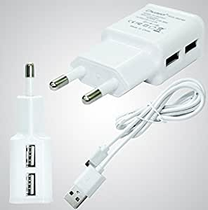 MIMOB 2 Port (2 AMP) Compatible fast Charger For HTC Desire S