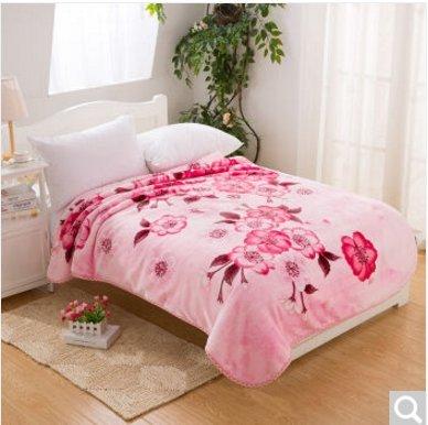 BDUK Single Raschel Decke Gross Double Dick ist Cloud Ultra-Soft Decke ,T,1,35*2,0 m Bett Decken