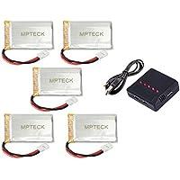 MPTECK @ Lipo Batterie 3,7V 750mAh x5+