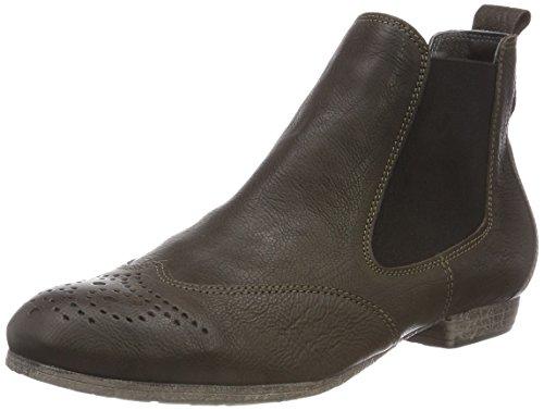 Think! Damen EBBS_383136 Chelsea Boots, Grün (62 Oliv), 41 EU