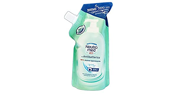 Bagno Neutromed : Sapone liquido antibatterico 500 ml ricarica: amazon.it: bellezza
