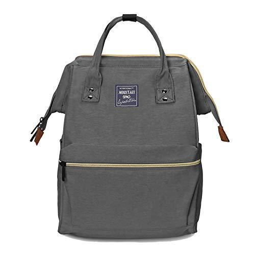 Lantch Laptop Rucksack Damen Schule Bag Unisex Schultasche Lässiger Daypacks Business Rucksack(ga)